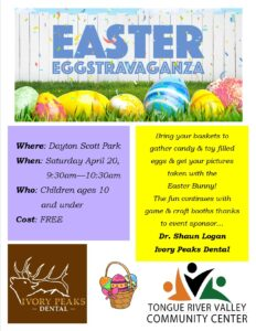Easter Egg-stravaganza! @ Dayton Scott Park