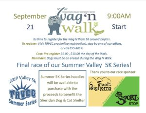 Valley 5k Series - Wag'n Walk @ TRVCC Ranchester