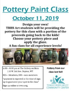 Sip & Paint - Pottery! @ Black Tooth Brewery