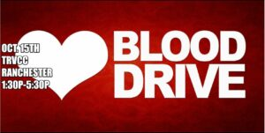 Blood Drive @ TRVCC Ranchester @ TRVCC Ranchester
