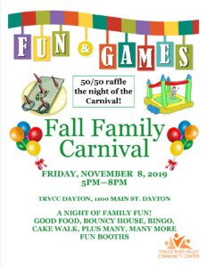 Fall Family Carnival @ TRVCC Dayton