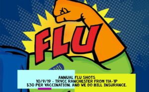Flu Shot Clinic @ TRVCC Ranchester