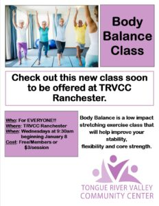 Body Balance @ TRVCC Ranchester