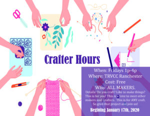 Crafter Hours @ TRVCC Ranchester